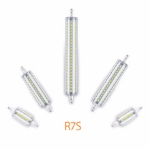 LED R7S Corn Bulb Horizontal Plug Light 118mm Replace Halogen Lamp 220V 78mm Lampada Energy Saving 135mm 189mm