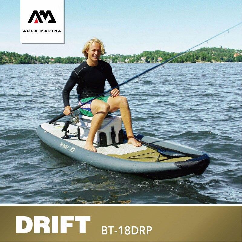 AQUA MARINA dérive SUP planche à pagaie planche à pagaie de pêche gonflable Stand Up planches de surf planche de surf de pêche avec boîte de pêche 33