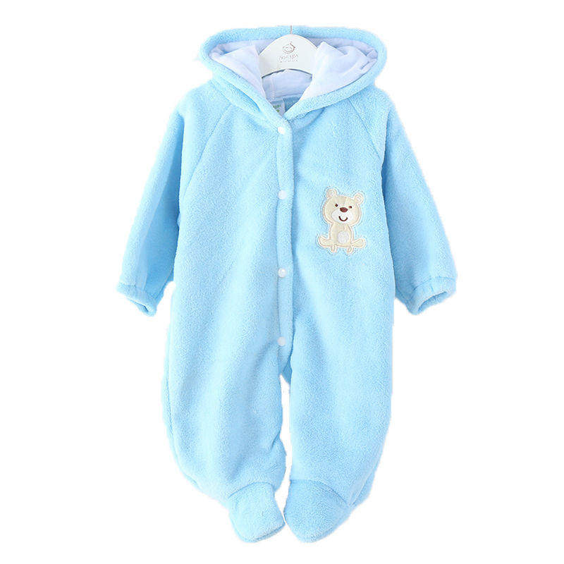 Winter Newborn Warm Baby Rompers Infant Baby Clothes Fleece Animal Style Clothing Romper Baby Clothes Cotton-padded Overalls newborn baby rompers baby clothing 100% cotton infant jumpsuit ropa bebe long sleeve girl boys rompers costumes baby romper