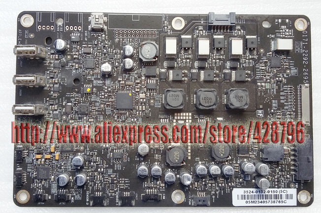 A1267 Logic Board motherborad for 24 LED Cinema Display,661-4823,0171-2292-2695,MB382LL,Without Cable