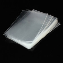 100Pcs Good Quality Transparent Plastic Bag OPP Bags Cookie Bakery Candy Cellophane Bag Saran Wrap wholesale drop shipping(China)