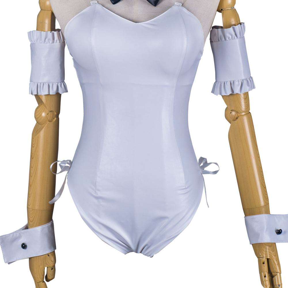 Yosuga No Sora Cosplay Kasugano Sora japonais Anime femmes fantaisie Costume vêtements Halloween blanc body combinaison Costume - 6