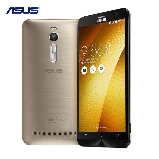 Asus Zenfone 2 ZE551ML Intel Atom Z3580 2.3 ГГЦ 5.5 Дюймов Сотовых Телефонов Android 5.0 4 ГБ RAM 32 ГБ ROM 13.0MP LTE 4 Г Мобильный Телефон