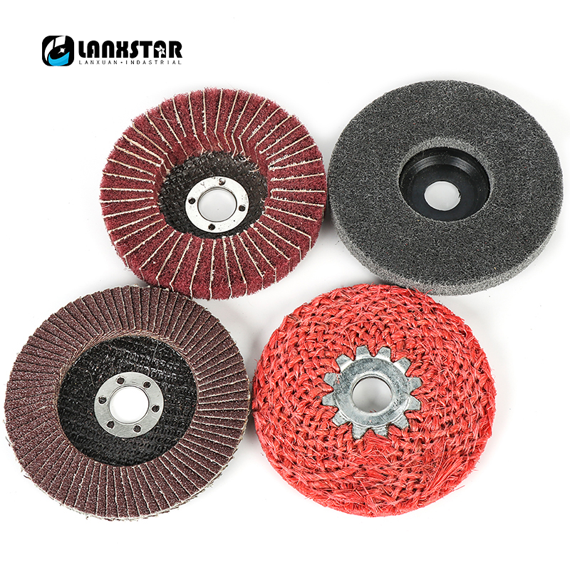 Durable New 4PC Angle Grinder Wheels Grinding Tools for Metal Finish Coarse Fine Polishing Abrasive Grind Disc
