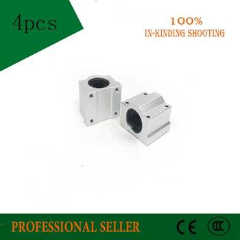 High quality 4 pcs SC20UU SCS20UU 20mm linear ball bearing slide unit 20mm linear bearing block for DIY CNC Router linear slide фото