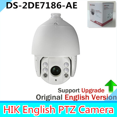 Original Version DS-2DE7186-AE 2MP Network PTZ Dome Camera 30X Optical Zoom 100m IR Full HD 1080P POE 3D Intelligent Positioning удлинитель zoom ecm 3