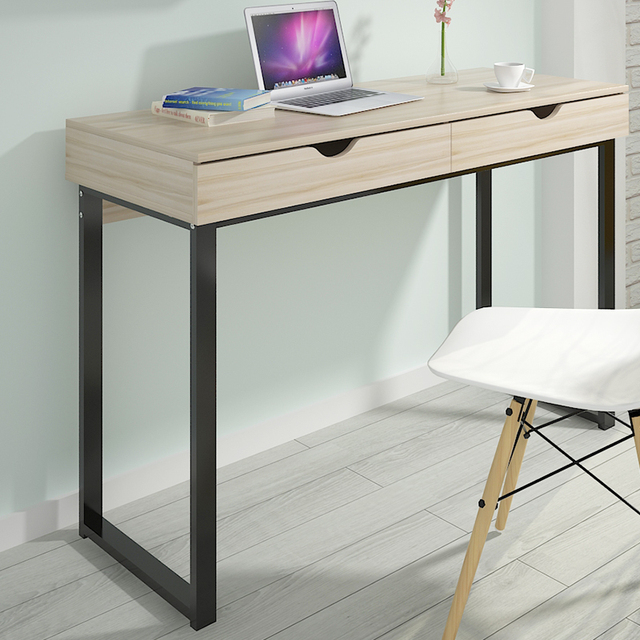 simple small computer desk long 6 080 100 120 wide office with rh aliexpress com small computer desktop small computer desk canada
