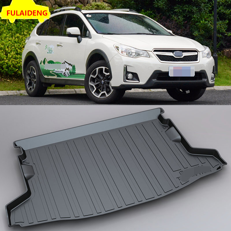 BOOT MAT TAILORED WATERPROOF COMPATIBLE WITH SUBARU XV SUV since 2012