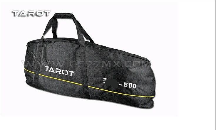 TAROT 500 helikopter części 500 przenoszenia torba czarny TL2649 w Części i akcesoria od Zabawki i hobby na  Grupa 1