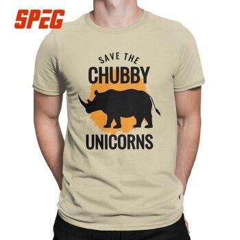 Besparen De Mollige Unicorns Vintage T-Shirt Man Korte Mouwen Creative Tees T-shirt Eenhoorn Lover Gift Grappig Eenhoorn Cartoon