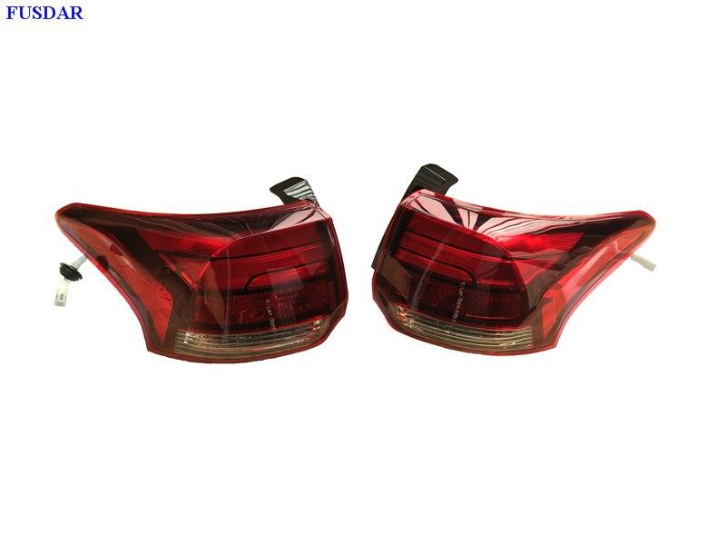 1 paire accessoires de voiture LED feu arrière extérieur feu arrière feux arrière 8330B004 8330B003 pour Mitsubishi Outlander PHEV 2017-2018