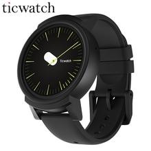 Продажа Оригинальный Ticwatch E Expres Смарт-часы Android Wear ОС Двухъядерный Bluetooth 4,1 WI-FI gps Smartwatch телефон IP67 Smart Photo часы