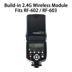 Image 4 - YONGNUO YN560 III YN 560 III YN560III Drahtlose Blitz Speedlite blitzgerät Für Canon Nikon D3200 D3100 D5300 D7200 DSLR Kamera