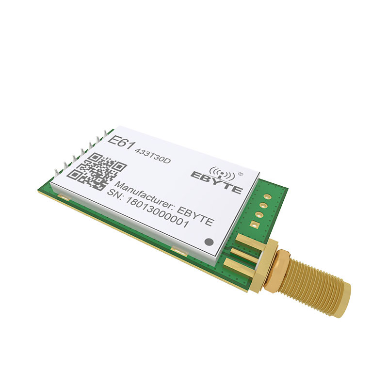 Image 4 - 433MHz TCXO Long Range E61 433T30D Wireless Transceiver rf Module UART Data Transmitter-in Fixed Wireless Terminals from Cellphones & Telecommunications