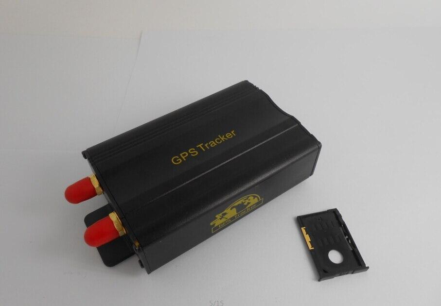 Gps-Tracker Tk103b Open-Door Shock-Alarm New Car with Envelop-Pack
