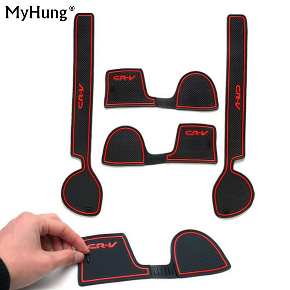 for-honda-crv-2008-2009-2010-car-anti-slip-gate-car-door-groove-slot-latex-non-slip-mat-interior-cup-cushion-car-styling-4pcs
