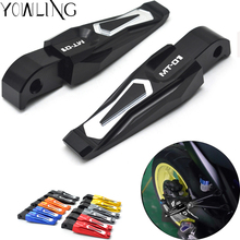 Left and right Motorcycle Folding Foot Pegs foot pegs motorbike footrest Pedals For Yamaha MT-01 MT 01 MT01 2014 2015 2016