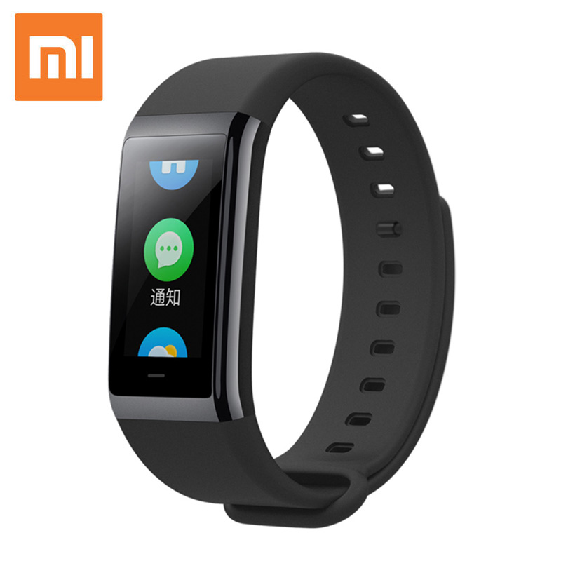 2.5D Touch Screen Band Xiaomi Huami Amazfit Smart Band Sport Activity Waterproof Fitness Tracker Smartband Heart Rate Bracelet huami amazfit heart rate smartband