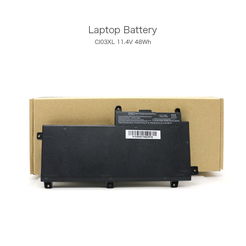 11.4V 48Wh CI03XL Notebook Replacement Battery for HP EliteBook 745 G2 EliteBook 745 G3 EliteBook 840 G1 EliteBook 840 G3 Laptop