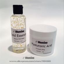 Matrixyl 3000  Gold Facial Serum Hyaluronic Acid  Firming Gel Skincare Set  Anti-wrinkle Anti-wrinkle Moisture Lifting Elastic S