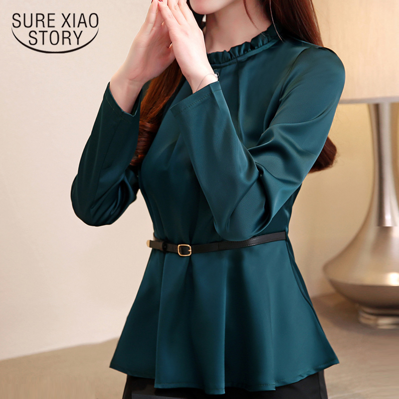 blusas femininas elegant   blouse   fashion womens tops and   blouses   2019 chiffon   blouse     shirt   tops long sleeve women   shirts   2033 50