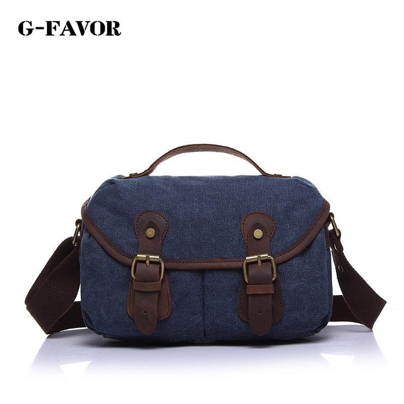 new fashion high quality canvas leather handbags men casual large capacity travel bags vintage canvas messenger bags men
