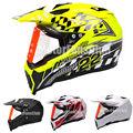 Racing Motorcycle Bike Bicycle Motorcycle Motocross Off Road ATV Dirt Bike Full Face Helmet With Visor Racing Gear M L XL