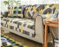 Simple And Modern Living Room Sofa Cushion Four Seasons Universal Cotton Fabric Cushion Non Slip All