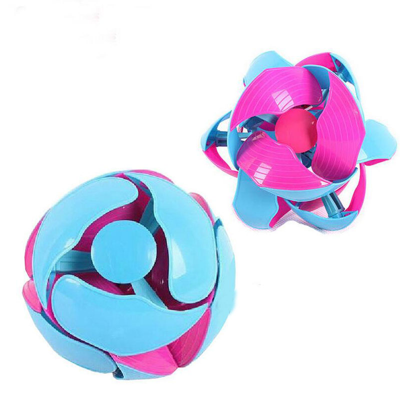 Plastic Children Kids Indoor Outdoor Sports Training Transformation Magic Ball Educational Interactive Games Toys Changed Ball