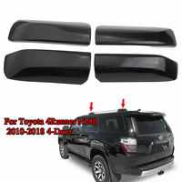 Blk Car Roof Rack Rail End Cover Shell Replacement Cap For 10 18 Toyota 4Runner N280