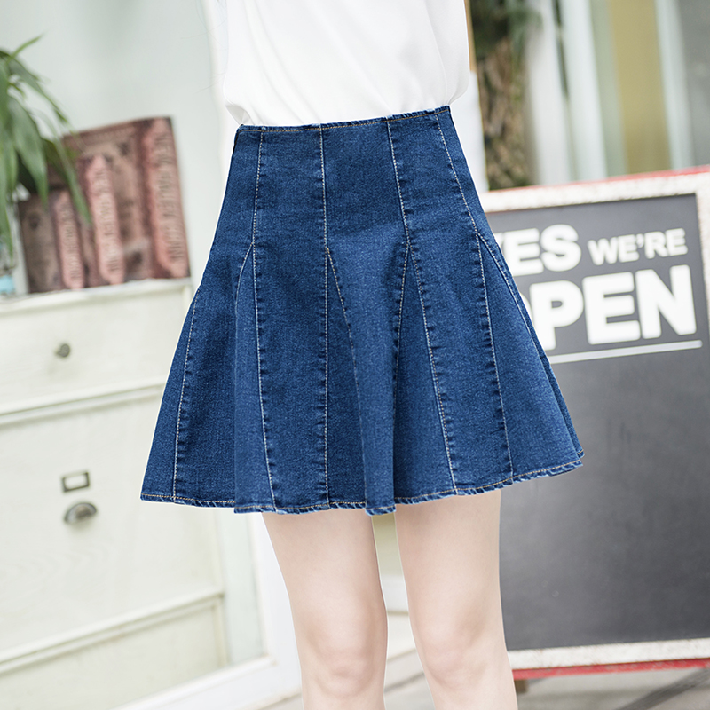 Popular Ladies Jean Skirts-Buy Cheap Ladies Jean Skirts lots from ...