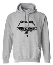 Schwere metall metallica classics rock mann sweatshirt herren 2017 neue langärmelige baumwolle sweatshirt männlich marke mit kapuze lustige clothing