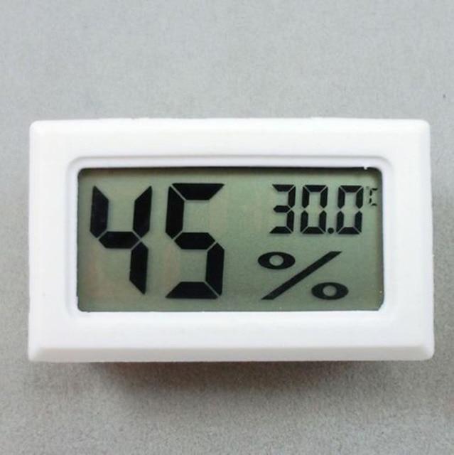 Meter Digital Temperatura Lcd Umidità Igrometro Termometro Vivarium Rettile