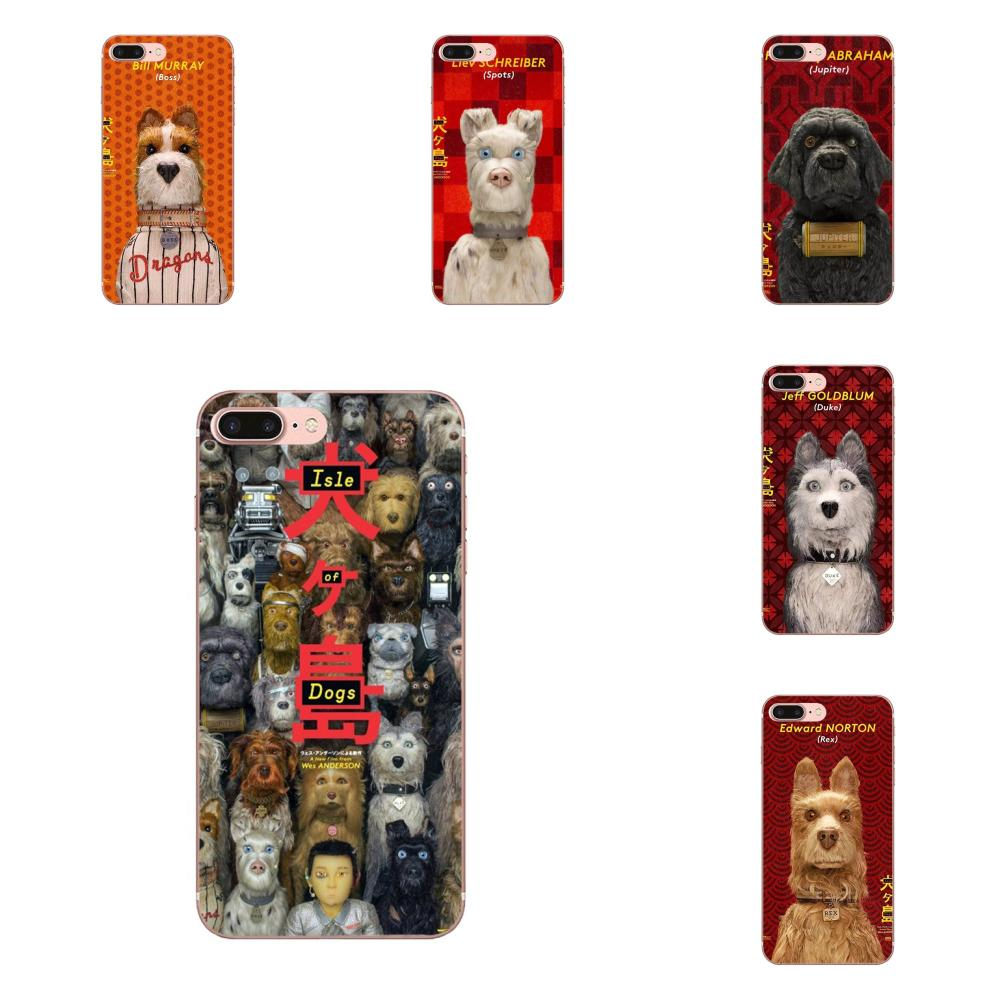 2018 Movie Isle Of Dogs Cute TPU Printing For Galaxy A3 A5 A7 A8 A9 A9S On5 On7 Plus Pro Star 2015 2016 2017 2018 image