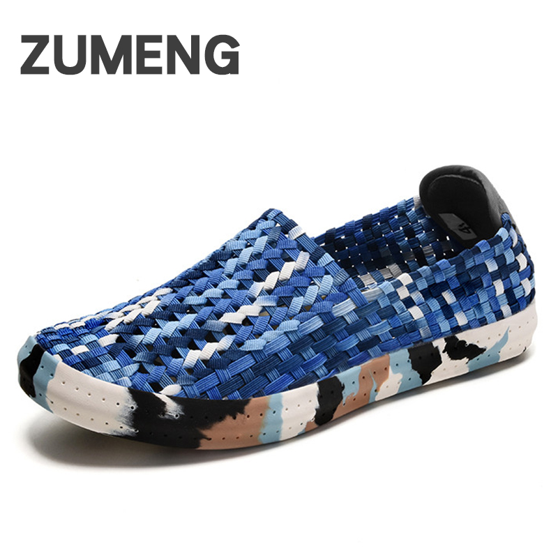 New summer casual shoes mens fashion shoes brands outdoor hip hop for man loafers flat breathable cheap chaussure homme zapatos