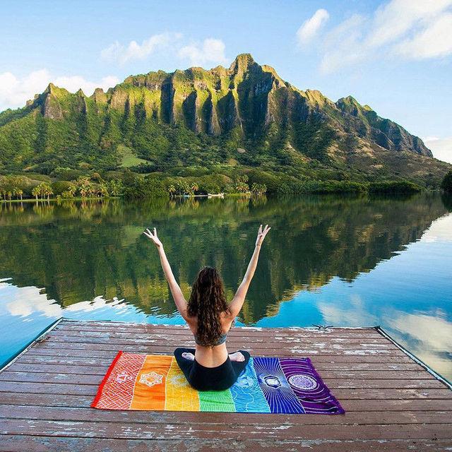 Perfect Chakra Yoga Mat