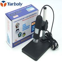 500 x LED USB Microscopio Digital con Soporte para Bga Soporte de Soldadura de Reparación de La Lámpara de Aumento Lupa