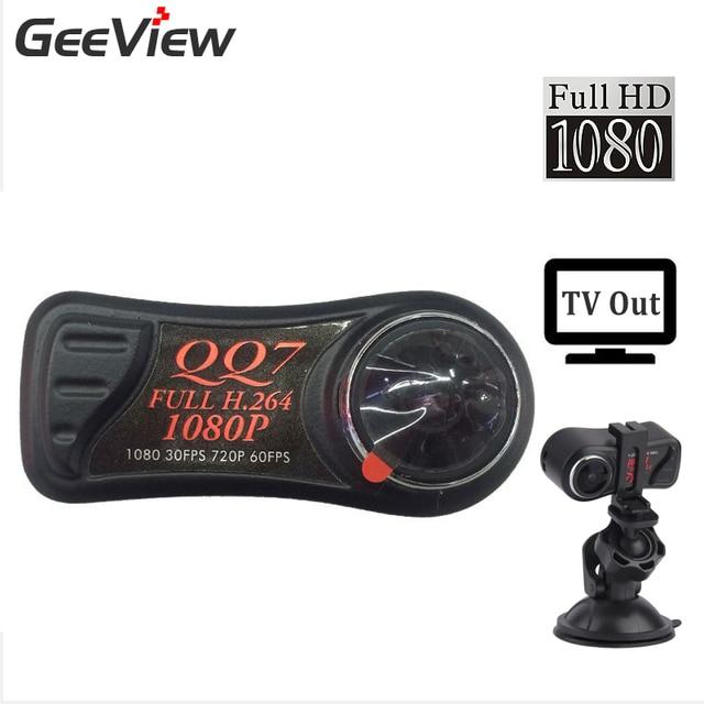 Micro DVR QQ7 FULL HD 1080P Video Recording Mini DVR In H.264 Codec Night Vision Mini Camcorder With Wide Angle Video Camera HD