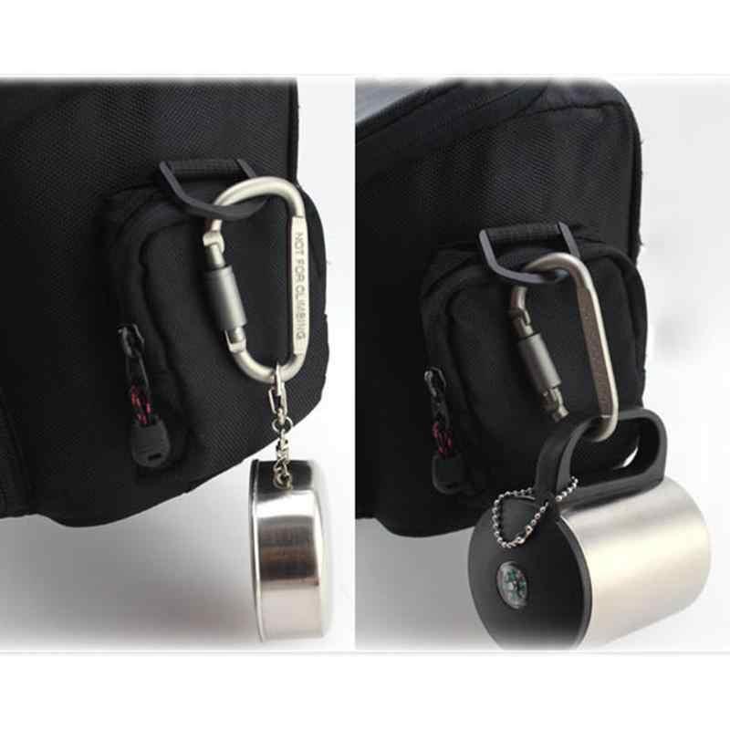 1-20 יח'\סט D בצורת אלומיניום סגסוגת Carabiner בורג נעילה וו קליפ מפתח טבעת חיצוני קמפינג טיפוס כלים גבוהה באיכות
