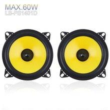 2pcs/lot 4 inch 60W 2-Way Car Speaker Full Range Frequency A