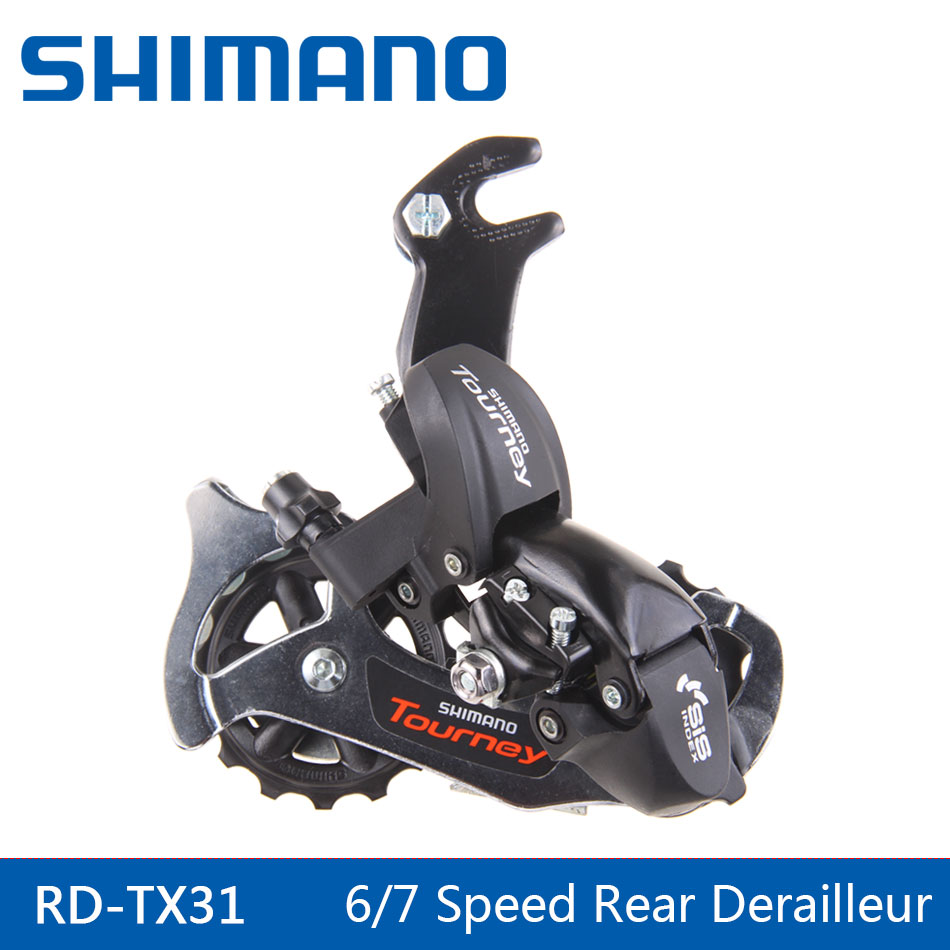 цена на SHIMANO Bike Derailleur Bike Parts RD-TX31 MTB bicycle 6 7 8 Speed 18 21 24S MTB For Bike Rear Derailleur
