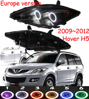 HID,2009~2012,Car Styling for Hover H5 Headlight,H1 H2 H3 H5 H9,M2,C3 C5;Hover H5 head lamp