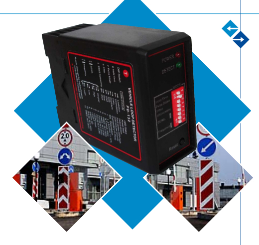 Car Location Loop Detector For Parking Management And Barrier Gate