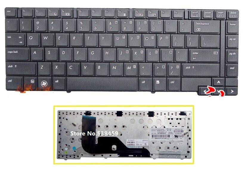SSEA New US Keyboard Black For HP ProBook 6440b 6445b 6450b 6455b Laptop US Keyboard
