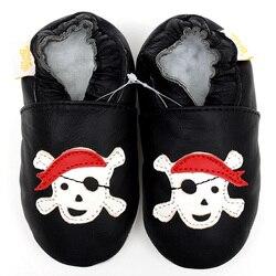 الوليد جلد الطفل الأحذية الأخفاف الصبي النعال طفل أطفال أحذية أسود الكرتون الطفل أحذية الأولى ووكر الأحذية الرضع حذاء