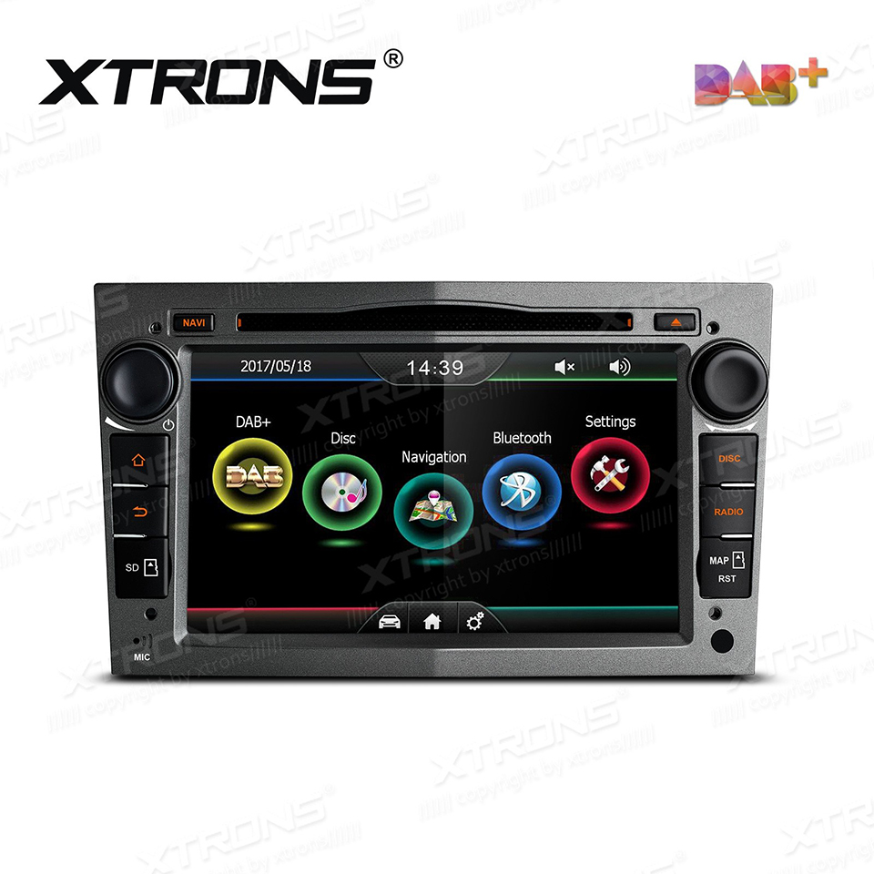 7 dab 2 din radio car dvd player gps for opel vauxhall. Black Bedroom Furniture Sets. Home Design Ideas