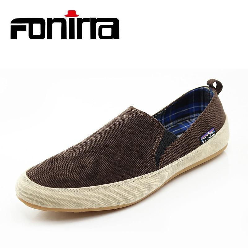 FONIRRA Summer 2017 Korean Style Men Canvas Shoes Fashion Casual Men