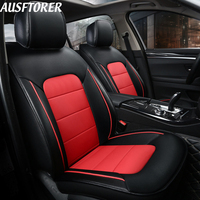 AUSFTORER Cowhide Custom Cover Seat Car for Lexus NX 300h 300 200 NX200t Automobile Seat Covers Car Cushion Supports Accessories