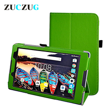 Protective Bag Folio PU Leather case for Lenovo Tab 2 A8-50LC Litchi Case Stand Cover For Lenovo Tab2 A8 8'' A8-50F Tablet цена