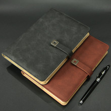 Cheng Jia Magnetic Notebook Business Vintage Pu Leather Agenda Diary Planner Stationery Traveler Notepad Journal Note